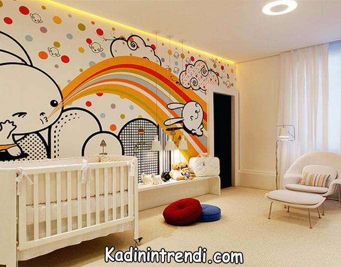 bebek-odasi-dekorasyon fikirleri