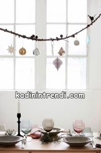 Yılbaşı dekorasyonu İçin Pratik Fikirler