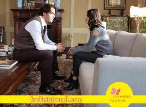 Ölene Kadar 3. bölüm Beril'in siyah botu ve pantolonun markası Twist.