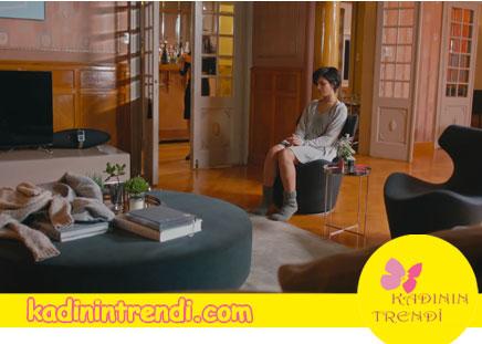 Cesur ve Guzel Suhan'in Nisantasi'ndaki evi -Salon mobilyaları