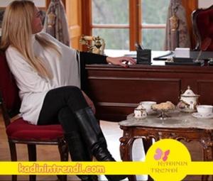 Eşkiya-Dünyaya-Hükümdar-Olmaz-54-Bölüm-Suzinin-giydiği-beyaz-yarasa-kol-Bluz-Twist