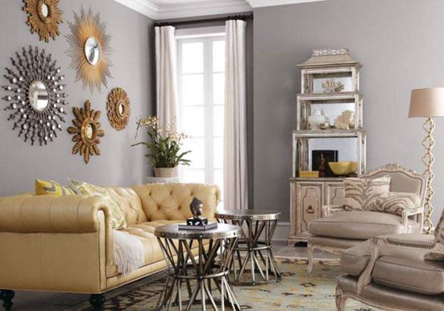 salon dekorasyonu aksesuar kullanımı duvar süslemesi