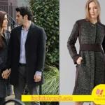 Aşk-Laftan-Anlamaz-30 bölüm-Kıyafetleri Hayat Gri Kaban ADL