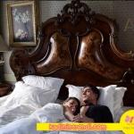 İstanbullu gelin Faruk ve Süreyyanın yatak oda tasarımı ve mobilyaları. yatak örtüleri karaca Home