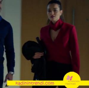 Kara Sevda Asu Kırmızı bluz hangi marka açıklanacak