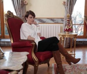 EDHO Sanem Çelik-Ceylan karakterinin taba çizmeleri Shoes House