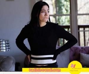 No-309-dizi-kıyafetleri-37-Lale-siyah-Triko İpekyol Marka