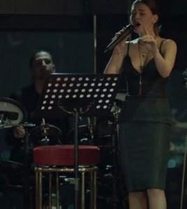 İstanbullu Gelin Süreyya siyah elbise Ju İstanbul.