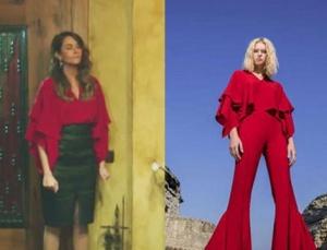 Seçil karakterinin giymiş olduğu kırmızı bluz markası Ceren Mercanlı.