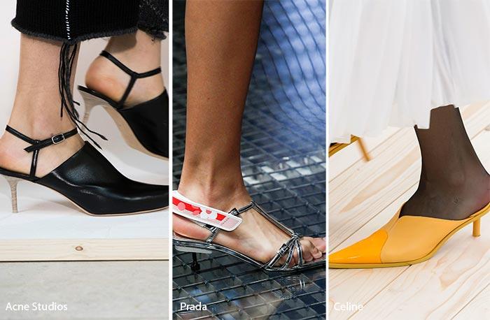 Daha seksi bir hava katmak için bir o kadar da sevimli kedi topuklu ayakkabılar tasarlanmıştı. Taytlara giyilecek şekilde tasarlanan bu topuklu stiller yeni sezonla beraber ayaklardaki yerini alacak.