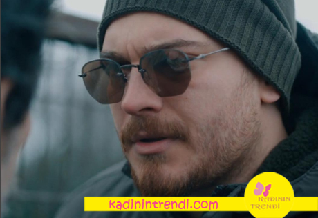 İçerde Çağatay Ulusoy köşeli güneş gözlüğü Hally&Son marka.