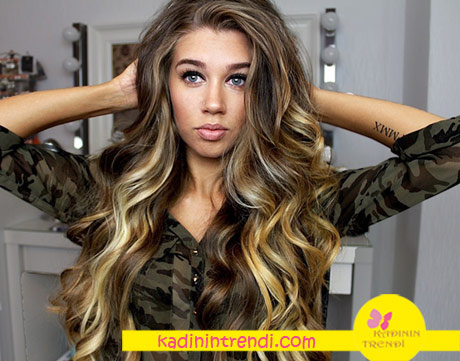2017 saç modelleri dalgalı saç
