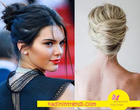 2017 saç modelleri topuz