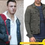 Bu Şehir arkandan gelecek Kıyafetleri Ali gri ceket markası Diesel.
