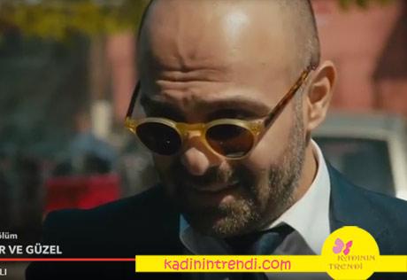 Cesur ve Güzel 23 bölümde Korhan güneş gözlüğü Tom Fort marka