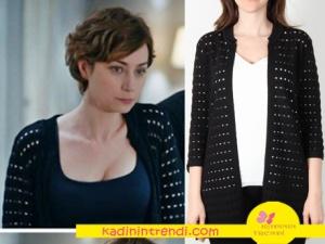 Eşkiya Dünyaya Hükümdar Olmaz Ceylan siyah hırka Ekol'de satılmaktadır. Siyah Hırkanın markası On Fashion.