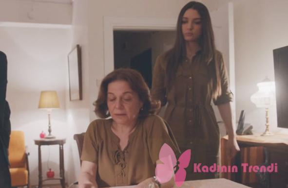 İçerde 36. bölümde Eylem karakterinin giydiği yeşil elbise markası Koton