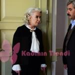 İstanbullu Gelin 10. Bölüm dizi Kıyafetleri Esma Hanım siyah hırka ve beyaz gömlek hangi marka