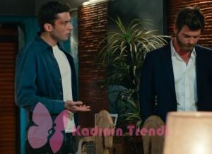 Cesur ve Güzel Kemal mavi kot gömlek