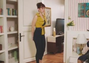 Fazilet Hanım ve Kızları 7. Bölüm Yasemin Sarı Yelek di Fashion Branding