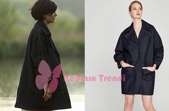 Sühanın 26. ve 27. bölümlerde giydiği pardösü Marchka markadır
