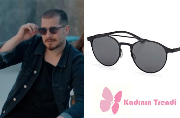 erde Final Bölümünde Sarp karakterini canlandıran Çağatay Ulusoy taktığı gözlükleri AdidasOriginals by ItaliaIndependent marka