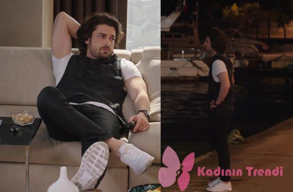 Sinan Egemen Fazilet Hanım ve Kızları dizisinde Sinan Egemen spor ayakkanbıları spor giyim