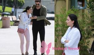 NO309 50. bölümünde, Demet Özdemir'in giydiği beyaz ceket Tommy hilfiger