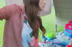 Dolunay 1. bölümde Nazlı karakterinin giydiği pudra rengi kapüşonlu Sweatshirt Stella Mccartney.