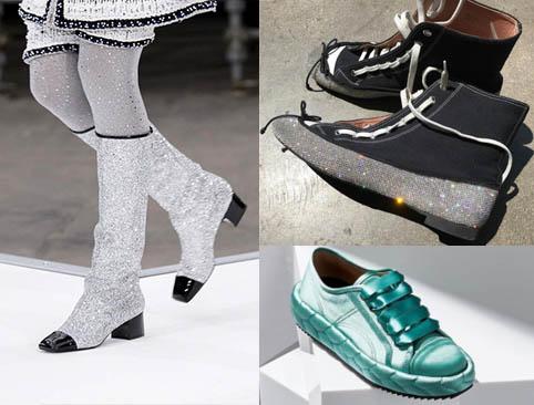 2017 2018 Sonbahar-Kış Moda Trendleri Bot modelleri