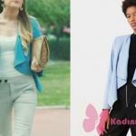 Bahar mavi ceket markası Mango