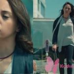 Kalp Atışı 5. bölüm Eylül ekru bluz ve jean pantolon markası araştırılıyor. Eylül tasma kolye Mealux markadır.