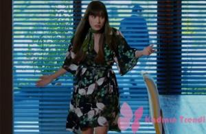 Nazlı karakterinin giyDİĞİ çiçek VE KUŞ desenli elbise markası Zara.
