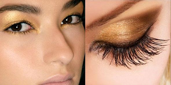 Parlak Göz Makyajı Trendleri