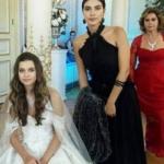 Fazilet Hanım ve Kızları Hazan siyah abiye elbise fazilet kırmızı abiye elbise markası açıklanacak.