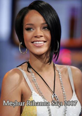 İşte Meşhur Rihanna Saçı 2007
