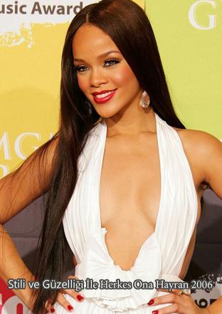 Rihanna Kilo aldı Rihanna saç modelleri 2006