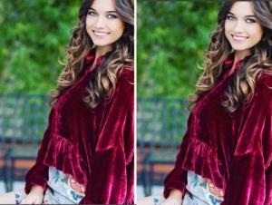 Fazilet Hanım ve Kızları Ece kırmızı kadife bluz markası Mehtap Elaidi