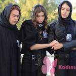 Fazilet Hanım ve Kızları dizi kıyafetleri Hazan ve Ece siyah ceket nereden