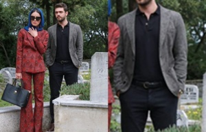 Meryem Dizisi Savaş ceket ve pantolon markası Ramsey