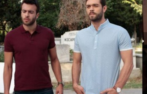 Meryem dizisi 6. bölüm kıyafetleri Savaş mavi tişört güçlü bordo tişört markaları
