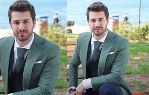 No 309 Onur Dizi Kıyafetleri Onur Furkan palalı yeşil ceket ve kombini Barış Kurdal marka Onur saat Nacar marka