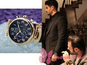 Siyah İnci kıyafetleri 5. bölüm Kenan kol saati Nacar marka