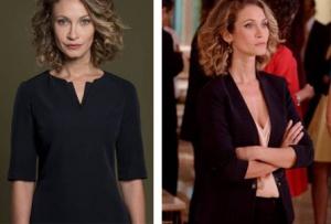 Siyah Beyaz Aşk İdil Karakterinin giydiği siyah ceket ve bluz markası Network İdil Yarım kol siyah elbise markası açıklanacak