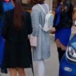 Şevkat Yerimdar Dizisi Esinin kullandığı beyaz sırt çantası Pinky Lola Design marka
