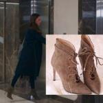 - Kalp Atışı Son Bölümde Öykü Karayel'in dizide giydiği kahve rengi topuklu çizmeleri hangi marka İnci Deri.