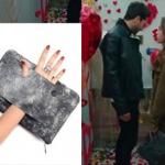 19 Kalp Atışı 19. bölüm Eylül karakterinin kahve rengi trenç kotu hangi marka? Eylül gri kırçıllı el çantasının markası Pinky Lola Design.