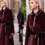 Doılunay Dizisinde Demeti canlandıran Aleara Bozbey'in bordo paltosu hangi markası Ng Style.