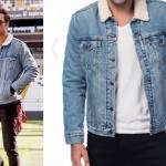 Dolunay Deniz Kıyafetleri Deniz kürk yakalı kot ceket markası Levis