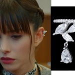 Dolunay 19 Kasım son bölümde Nazlı'nın taktığı taşlı küpenin markası AG Jewellery By Asli Goncer